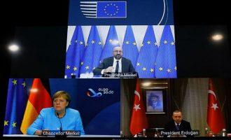 «Θυσία» γίνεται ο Ερντογάν και ζητά διάλογο παρά τις προκλήσεις