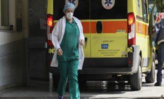 To 74% των συνολικών θανάτων από Covid-19 στην Ελλάδα μόνο το Νοέμβριο