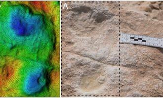 Επτά απολιθωμένες ανθρώπινες πατημασιές 120.000 ετών στη Σαουδική Αραβία