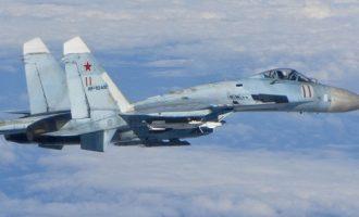 Ρωσικά αεροσκάφη αναχαίτισαν αμερικανικά πάνω από τη Μαύρη Θάλασσα