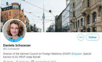 Γερμανίδα Σύμβουλος Μπορέλ: Δεν είναι ακόμα ώρα για κυρώσεις στην Τουρκία
