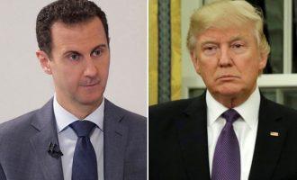Ο Tραμπ είχε σχέδιο να «εξοντώσει» τον Άσαντ