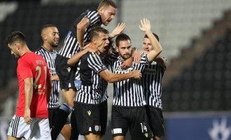 Νίκη πρόκριση του ΠΑΟΚ στα πλέϊ-οφ του Champions League 2-1 τη Μπενφίκα
