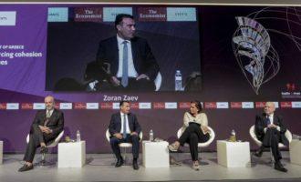 Τι είπε ο Ζάεφ για τις σχέσεις με την Ελλάδα – Γιατί χάρηκε η Ντόρα – Τι επεσήμανε ο Κατρούγκαλος