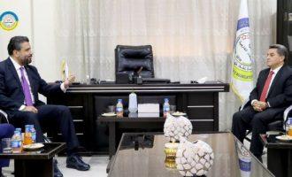 Αλβανική διπλωματική αντιπροσωπεία επισκέφθηκε τους Κούρδους στη Β/Α Συρία