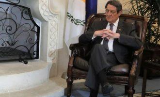 Η αντίδραση Αναστασιάδη στις δηλώσεις Τατάρ για οριστική διχοτόμηση της Κύπρου