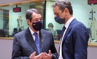 O Mητσοτάκης μίλησε με Αναστασιάδη για τις εξελίξεις στην Κύπρο