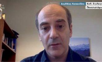 «Επαναστατικό» τεστ κορωνοϊού με ελληνική σφραγίδα – Τι είπε ο Αχιλλέας Κοπανίδης