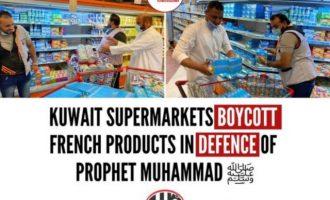 Η Γαλλία κάλεσε «εμπλεκόμενες χώρες» να «σταματήσουν» να καλούν σε μποϊκοτάζ γαλλικών προϊόντων