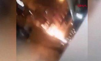 Ισχυρή έκρηξη στην Αλεξανδρέττα της Τουρκίας (βίντεο)