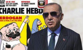 Ο Ερντογάν θέλει να βάλει… φυλακή το Charlie Hebdo