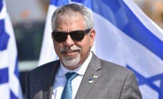 Εκπρόσωπος Ισραήλ: Πλήρης υποστήριξη και ισχυρή αλληλεγγύη στην Ελλάδα