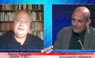 Νίκος Κοτζιάς: Δεν είναι μαξιμαλισμός να υπερασπίζεσαι τα δίκαια της χώρας σου (βίντεο)