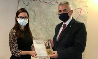 Ο Μάξιμος Χαρακόπουλος συναντήθηκε με την Πρέσβη της Βοσνίας Ερζεγοβίνης για τη ΔΣΟ