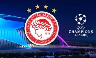 Champions League: Οι αντίπαλοι του Ολυμπιακού στον 3ο όμιλο