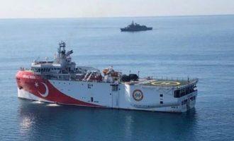 Oι Τούρκοι εξέδωσαν NAVTEX για έρευνες του «Ορούτς Ρέις» μέχρι τον Ιούνιο