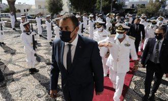 Παναγιωτόπουλος: Οι Ένοπλες Δυνάμεις θα υπερασπιστούν την εδαφική ακεραιότητα