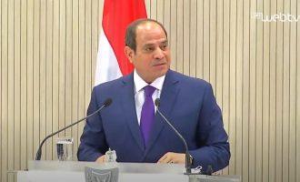 Πρόεδρος Σίσι: Η Αίγυπτος ποτέ δεν εκβίασε την ΕΕ με προσφυγικές ροές για οικονομικό όφελος
