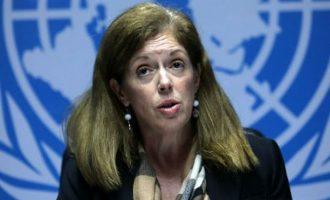 Η Στέφανι Ουίλιαμς του ΟΗΕ είπε πώς φαντάζεται τον ενδολιβυκό διάλογο