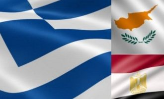 Στις 21 Οκτωβρίου στη Λευκωσία η 8η τριμερής Κύπρου, Ελλάδας, Αιγύπτου