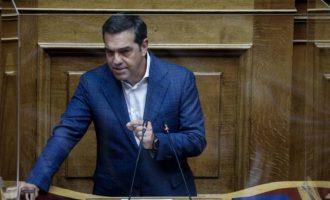 Πρόταση μομφής κατά Σταϊκούρα κατέθεσε ο Τσίπρας