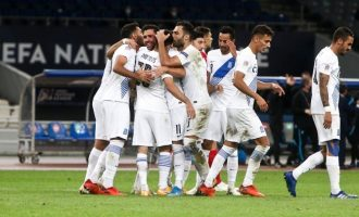 Nations League: Άνετα νίκησε η Εθνική Ελλάδας με 2-0 την Μολδαβία