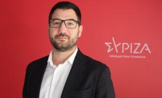 Ηλιόπουλος: Η κυβέρνηση δεν στηρίζει οικονομικά την κοινωνία και «κακοποιεί» τα πραγματικά στοιχεία