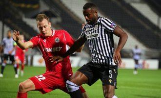 Europa League: Πρεμιέρα με γκέλα ο ΠΑΟΚ 1-1 με την Ομόνοια
