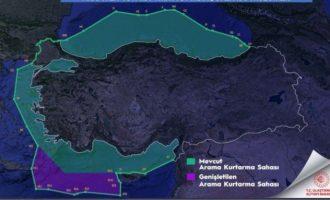 Οι Τούρκοι διχοτόμησαν το Αιγαίο με πρόσχημα την «έρευνα και διάσωση» – Αντίδραση από Αθήνα
