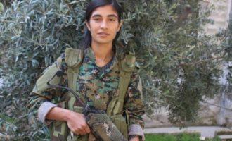 Η Κούρδισσα διοικητής Μπερφίν Ριζγκάρ σκοτώθηκε πολεμώντας τους Τούρκους στη βόρεια Συρία