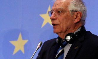 Ο Μπορέλ πάλι για ευρωπαϊκό στρατό μιλά – Να απαντήσει εάν αυτός θα πολεμήσει την Τουρκία