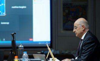 Ο Νίκος Δένδιας συμμετείχε στην 37η Υπουργική Σύνοδο της Γαλλοφωνίας