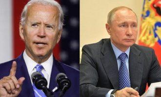 Ο Πούτιν δεν αναγνωρίζει τον Μπάιντεν ως νέο Πρόεδρο των ΗΠΑ