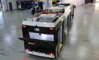 Στους δρόμους της Αθήνας δοκιμαστικά το λεωφορείο SOLARIS Urbino 12 Electric