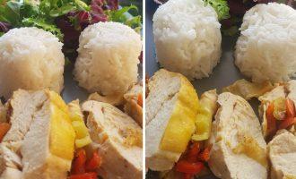 Φτιάξτε μόνοι σας πανεύκολο ρολό κοτόπουλο με πιπεριές
