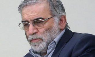 Το Ιράν κατηγορεί το Ισραήλ για τη δολοφονία του πυρηνικού επιστήμονα
