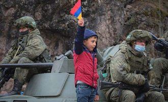 Σε νάρκη έπεσε μεικτή ομάδα Αζέρων, Ρώσων κι Αρμενίων που αναζητούσαν σορούς σε πεδίο μάχης