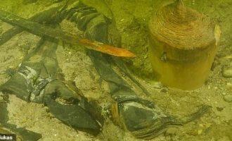 Βρέθηκε σε λίμνη στη Λιθουανία σκελετός στρατιώτη του 16ου αιώνα