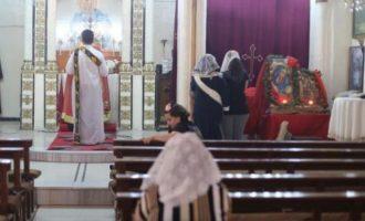 Μισθοφόροι των Τούρκων λεηλάτησαν την εκκλησία του Αγίου Θωμά στη Ρας αλ Αΐν της Συρίας