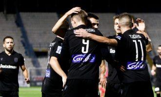 Super League: Ο ΠΑΟΚ νίκησε 3-1 τον Απόλλωνα Σμύρνης και πλησιάζει στην κορυφή