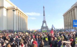 Γαλλία: Διαδηλώσεις κατά του ν/σ που περιορίζει τη μετάδοση εικόνων αστυνομικών