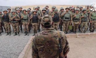 Κούρδοι Γιαζίντι πολεμάνε στο πλευρό των Αρμενίων ενάντια στους Αζέρους Τούρκους