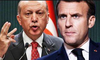 Όσο ο Ερντογάν «πουλούσε τρέλα» στην Κύπρο ο Μακρόν δέχτηκε στο Παρίσι τους ηγέτες των Κούρδων