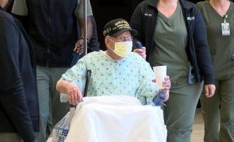 104χρονος στις ΗΠΑ νίκησε τον κορωνοϊό