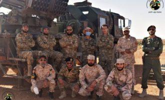 Η Τουρκία παρέδωσε στους ισλαμιστές της Λιβύης πολλαπλούς εκτοξευτές πυραύλων (φωτο)