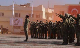 Ταξιαρχία Αλ Χάμζα: Τουρκμένοι τζιχαντιστές του Ερντογάν άνοιξαν νέο στρατόπεδο στη βόρεια Συρία