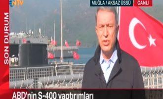 Ο Χουλουσί Ακάρ ζητά συνομιλίες, διαπραγματεύσεις και αποστρατιωτικοποίηση 23 ελληνικών νησιών