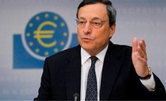 Με «μπαζούκα» Ντράγκι συνεχίζει η ΕΚΤ – Γερμανικές αιχμές για τα ελληνικά ομόλογα