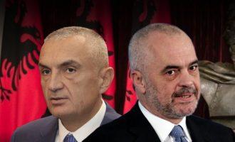 Αλβανία: Ο Έντι Ράμα δρομολογεί καθαίρεση του προέδρου Ιλίρ Μέτα