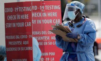 ΗΠΑ: 2.439 θάνατοι και 214.099 νέα κρούσματα